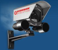 GERMIKOM R  Уличные видеокамеры с фиксированным углом обзора и встроенной ИК под