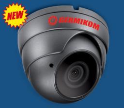 GERMIKOM VRX  Купольные видеокамеры с вариофокальным объективом и ИК подсветкой