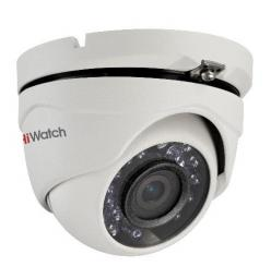 DS-T203 (3.6) HiWatch Видеокамера цв, купол TVI, 1080P