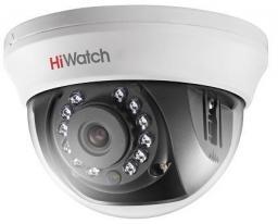 DS-T201 (3.6) HiWatch Видеокамера цв, купол TVI, 1080P