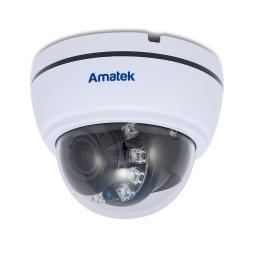AC-HD202VS (2.8-12) AMATEK Видеокамера цв, купол AHD/TVI/CVI/CVBS,2Мп