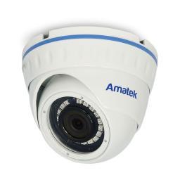 AC-IDV132 (2.8) AMATEK Видеокамера IP, купол 1,3Мп,ИК,антиванд