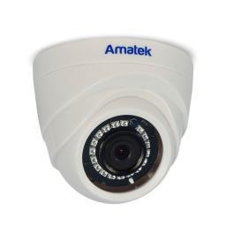 AC-ID202 (3.6) AMATEK Видеокамера IP, купол 2Мп,ИК,пластик