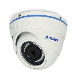 AC-IDV202 (2.8)(PoE) AMATEK Видеокамера IP, купол 2Мп,ИК,антиванд