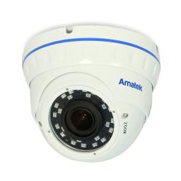 AC-IDV203VA(2.8-12)(PoE) AMATEK Видеокамера IP, купол 2Мп,ИК,ван,варио,ауд