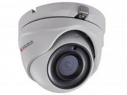 DS-T303 (3.6) HiWatch Видеокамера цв, купол TVI, 3Мп