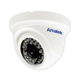 AC-HD202S (2.8 mm) (пластик) AMATEK Видеокамера цв, купол AHD/TVI/CVI/CVBS,2Мп