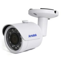 AC-IS202A (2.8)(PoE) AMATEK Видеокамера IP, цилиндр 2Мп,ИК,аудио