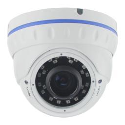 DDMV11IR (2,8-12) AltCam Видеокамера цв, купол AHD,1мп,улич,варио