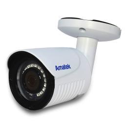 AC-HS202S (3.6mm) бел) AMATEK Видеокамера цв, цилиндр AHD/TVI/CVI/CVBS,2Мп