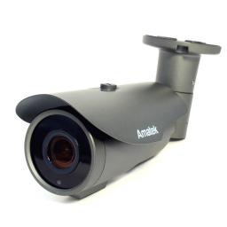 AC-IS506VA (2.8-12)(PoE) черн( AMATEK Видеокамера IP, цилиндр 5Мп,варио,аудио