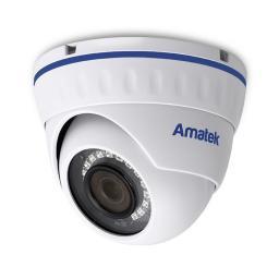 AC-IDV203AS(2.8)(PoE) v.2(слот SD) AMATEK Видеокамера IP, купол 3Мп/2Мп,ван,ауд