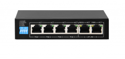 PND-04P-2M PolyVision Коммутатор 4POE+2M/60Вт
