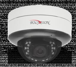 PDL-IP5-B2.8MPA v.5.8.9 PolyVision Видеокамера IP, купол Uni, 5Мп,а/ванд,PoE