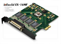 EX 16МF Ewclid Плата видеоввода 16 кан