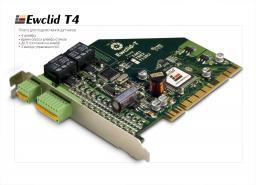 T 4 Ewclid Плата внешн.датч. 4 шл.