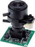 MDC-2120V (3,8-9,5) MicroDigital Видеокамера ч/б, модуль варио