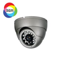CD7-CS-B4IR серая (4мм) DiGiVi Видеокамера цв, купол а/ванд,ИК,д/н