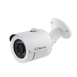 PN-A1-B3.6 v.2.0.1 PolyVision Видеокамера цв, цилиндр AHD,1Мп, уличн