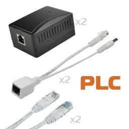 0602-PLA200 PolyVision Комплект PLC-адаптеров сети