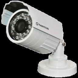 TSc-P720pAHDf (3.6) Tantos Видеокамера цв, цилиндр AHD,1Мп, ИК,уличн