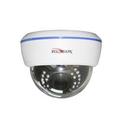 PDM1-A2-V12 v.9.5.6 PolyVision Видеокамера цв, купол AHD,2Мп, варио