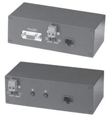 VE01S (300м) SC&T Комплект по вит.пар.VGA+232