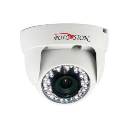 PD1-IP1-B3.6 v.2.0.2 PolyVision Видеокамера IP, купол 1Мп, пластик