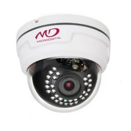 MDC-AH7260TDN-30 (2,8-12) MicroDigital Видеокамера цв, купол AHD,1,3Мп, ИК,вар