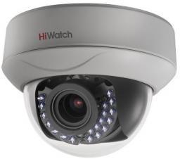 DS-T227 (2.8-12) HiWatch Видеокамера цв, купол TVI, 1080P, варио