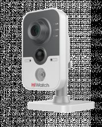DS-I114W (4.0) HiWatch Видеокамера IP 1Мп, WiFi