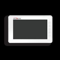PVD-7S v.7.1 white PolyVision Видеодомофон цв. 7'', HF