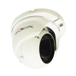 PDM-IP2-V12P v.2.3.5 PolyVision Видеокамера IP, купол 2Мп,ИК,варио,PoE